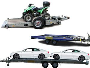 PKW Transporter, Motorrad Anhänger