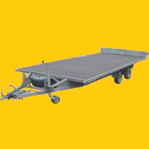 PKW Anhänger 156, PKW Baumaschinen Transporter mieten