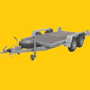 PKW Anhänger 157, Baumaschinen Transporter mieten