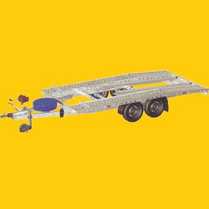 PKW Anhänger 158, Fahrzeug / PKW Transporter mieten