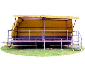 mobile bühne, open air Bühne